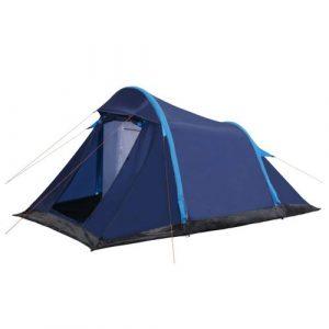VidaXL tent met opblaasbare tentbogen 320x170x150/110 cm blauw