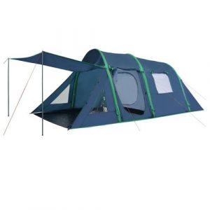 VidaXL tent met opblaasbare tentbogen 500x220x180 cm groen